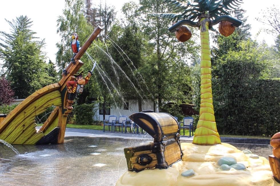 waterspraypark, peuterbad, vakantiepark De Thijmse Berg, Thijmse Berg, Rhenen, vakantiepark, vakantie in Nederland, huisje huren, weekendje weg, Ouwehands Dierenpark, Utrechtste Heuvelrug
