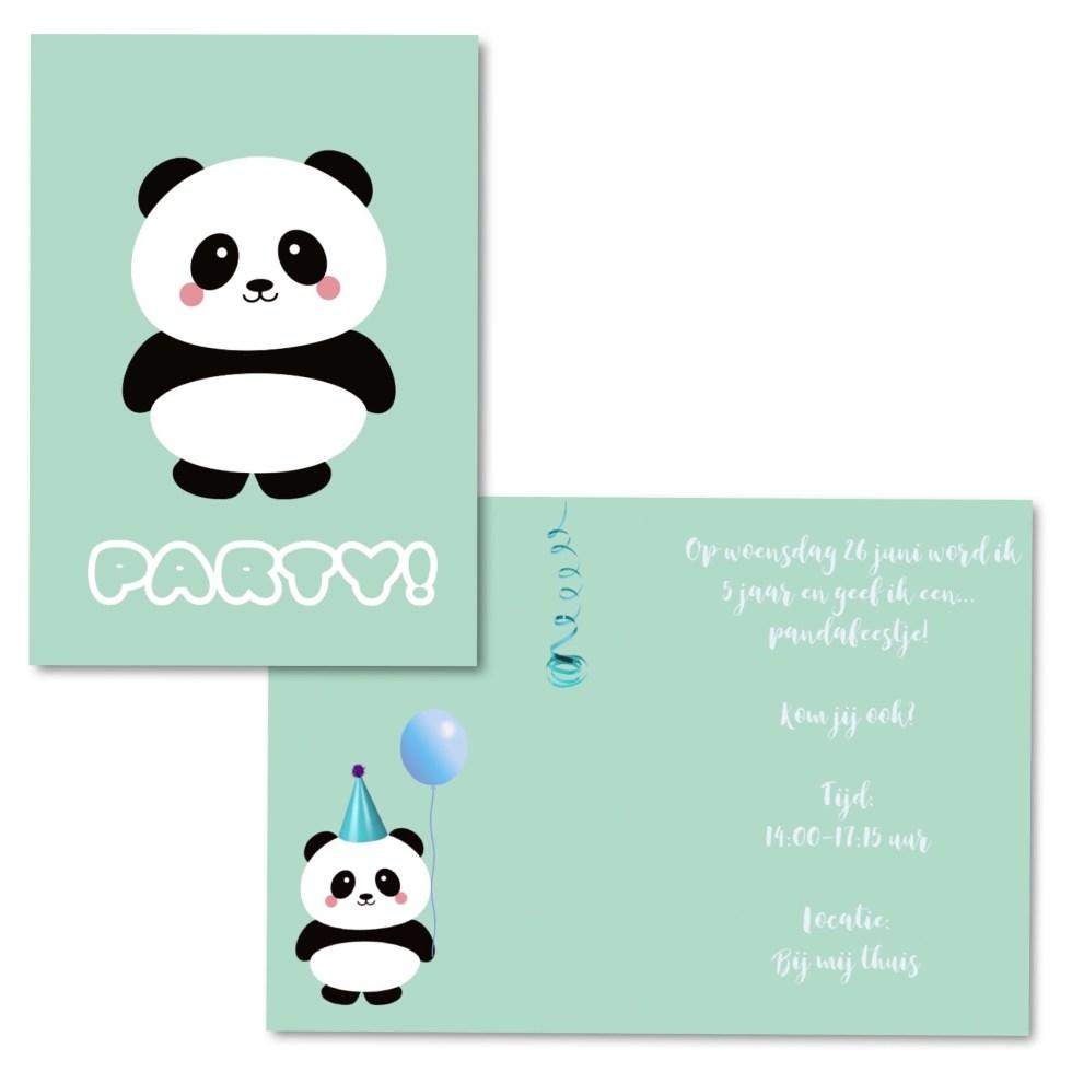 Kaartje2Go, uitnodiging, uitnodigingen, kinderfeestje, pandafeestje, uitnodigingen maken, uitnodiging kinderfeestje, kaartje, kaartjes maken, inspiratie, thathomepage