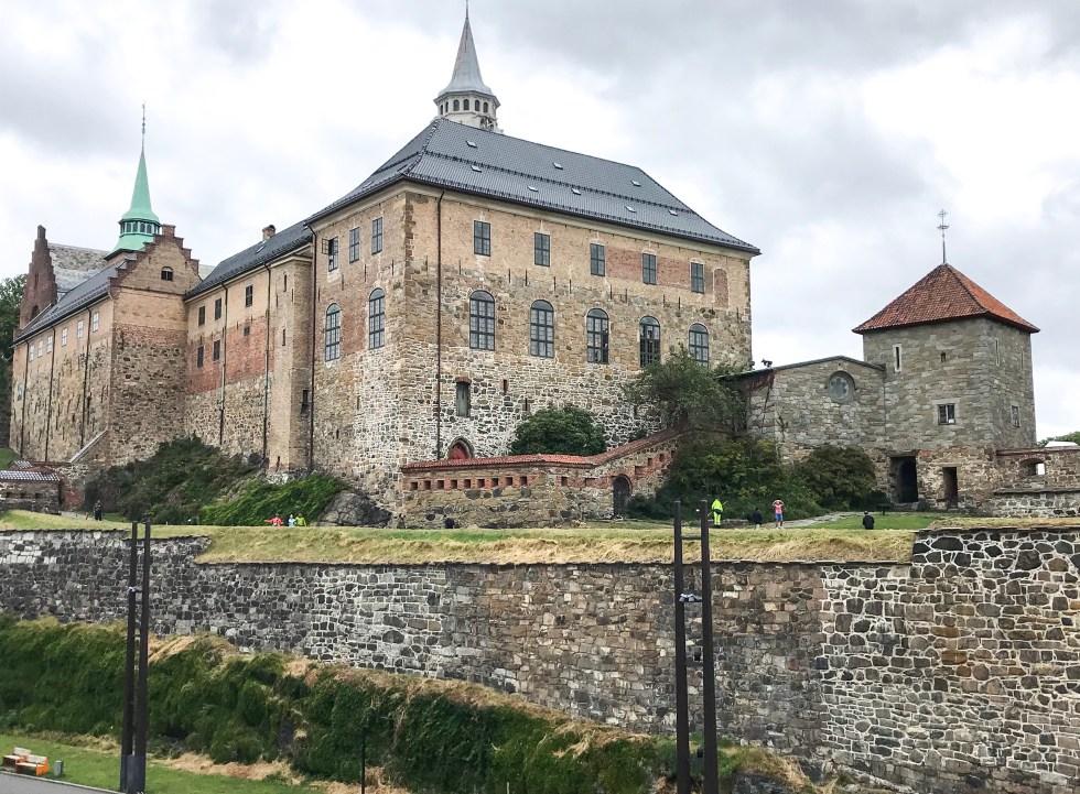 Akershus castle, Akershus kasteel, Oslo, cruise Noorwegen, cruise, reizen per cruise, reizen met een cruise, fjordencruise, thathomepage, (th)athomepage, liggend reizen