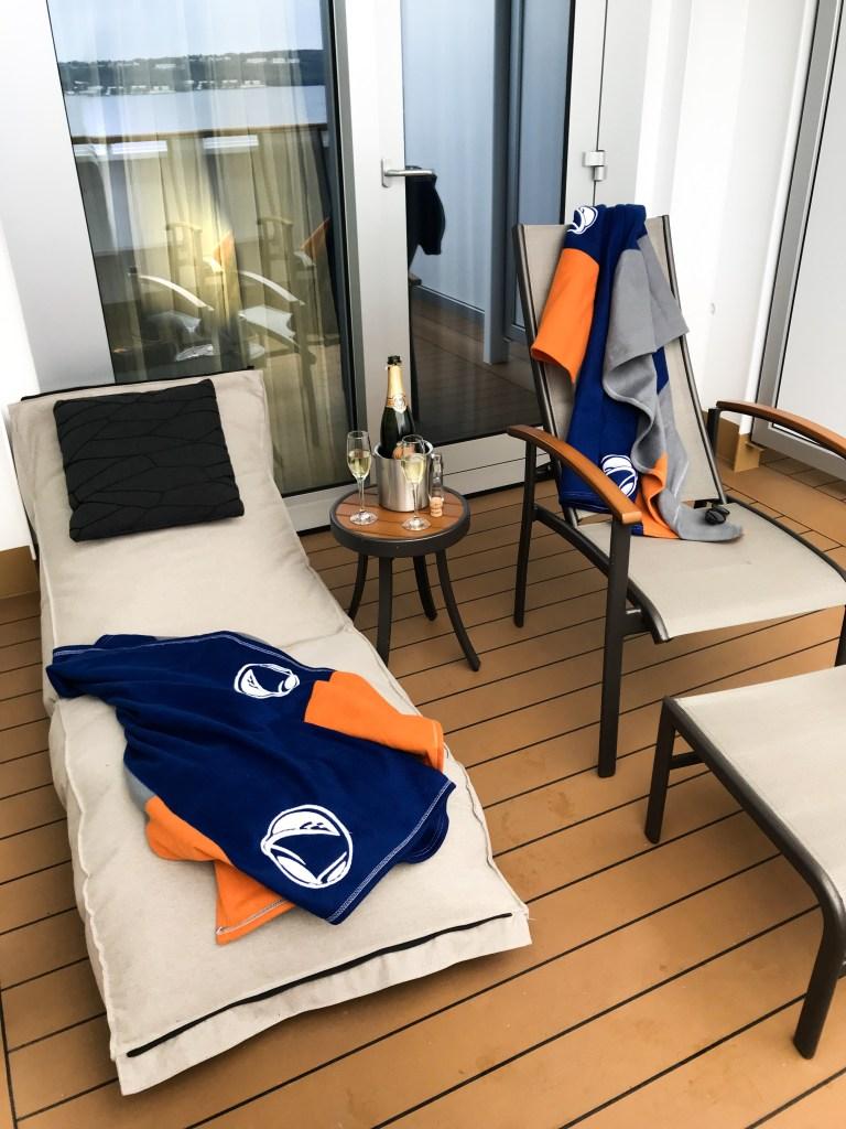 Nieuw Statendam, verandah stateroom, HAL, Holland America Line, cruise, cruise Noorwegen, reizen per cruise, hut met veranda, hut met dek, thathomepage, (th)athomepage