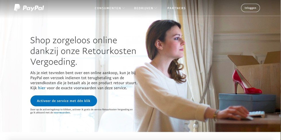 PayPal Retourkosten Vergoeding, Paypal, retourkosten vergoeding, gratis retouren, gratis retourneren, online aankopen. besparen, bespaartip, bespaartips, retourkostenregeling