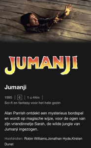 Jumanji, Netflix, guilty pleasure, guilty pleasure film, guilty pleasure films, films, Netflixfilms, kijktip, kijktips, bingewatchen, bingewatching