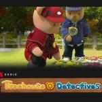 Treehouse Detectives, leerzame kinderserie, leerzame kinderseries, Netflix, kinderserie, kinderseries, schermtijd, kijktip, kijktips, thuisblijftip, kleuterserie