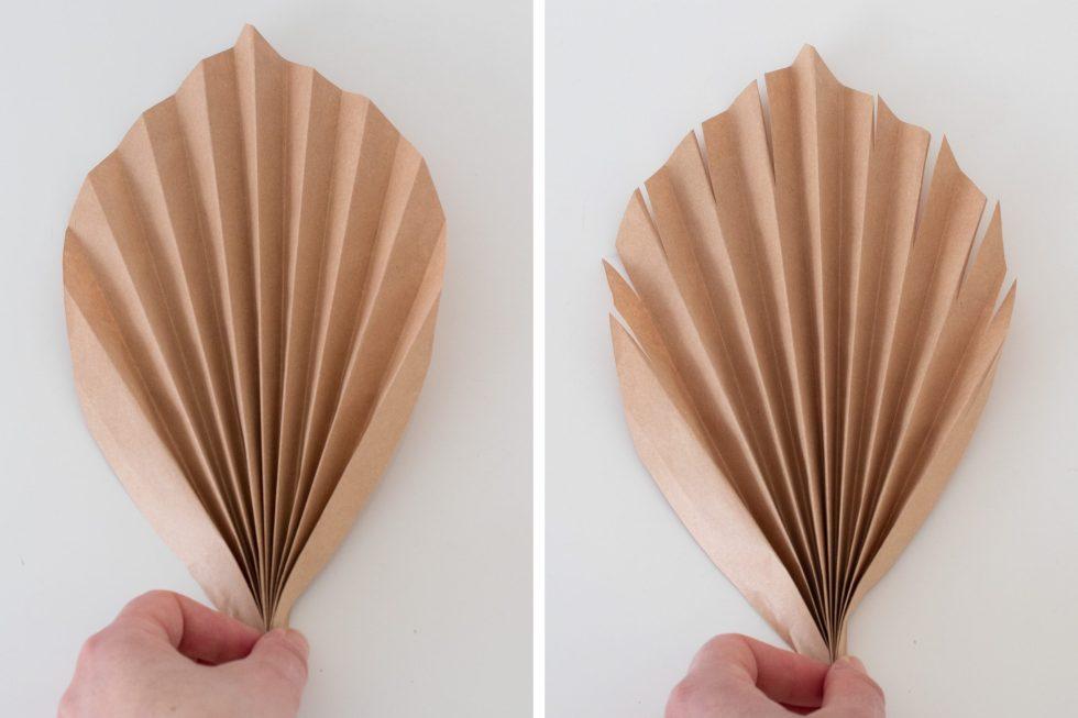papieren palmblad, DIY palmblad, palmblad vouwen, palmblad van papier, palmblad papier, zelf palmblad maken, knutselen, interieurinspiratie, interieur, woondecoratie, DIY, thathomepage, (th)athomepage