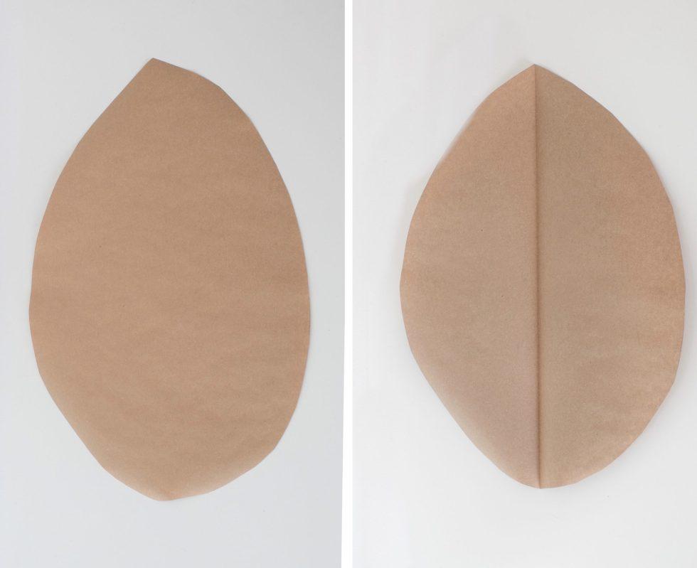 papieren palmblad, palmblad, palmblad van papier, palmblad vouwen, DIY, knutselen, interieurinspiratie, thathomepage, (th)athomepage, interieurblog, papieren woonaccessoires