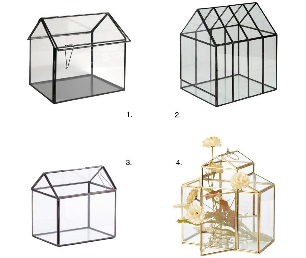 glazen huisjes, glazen huisje, glazen huis, terrarium huis, kweekkas huis, huisjes in het interieur, thathomepage, (th)athomepage, interieurinspiratie, woonaccessoires, woondecoratie, interieurblog