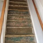 trap, oud huis kopen, oud huis, keuringsvoorbehoud, houtworm, houtworm trap, trap verven, trap opknappen, Van Lierop, interieurblog, thathomepage, (th)athomepage
