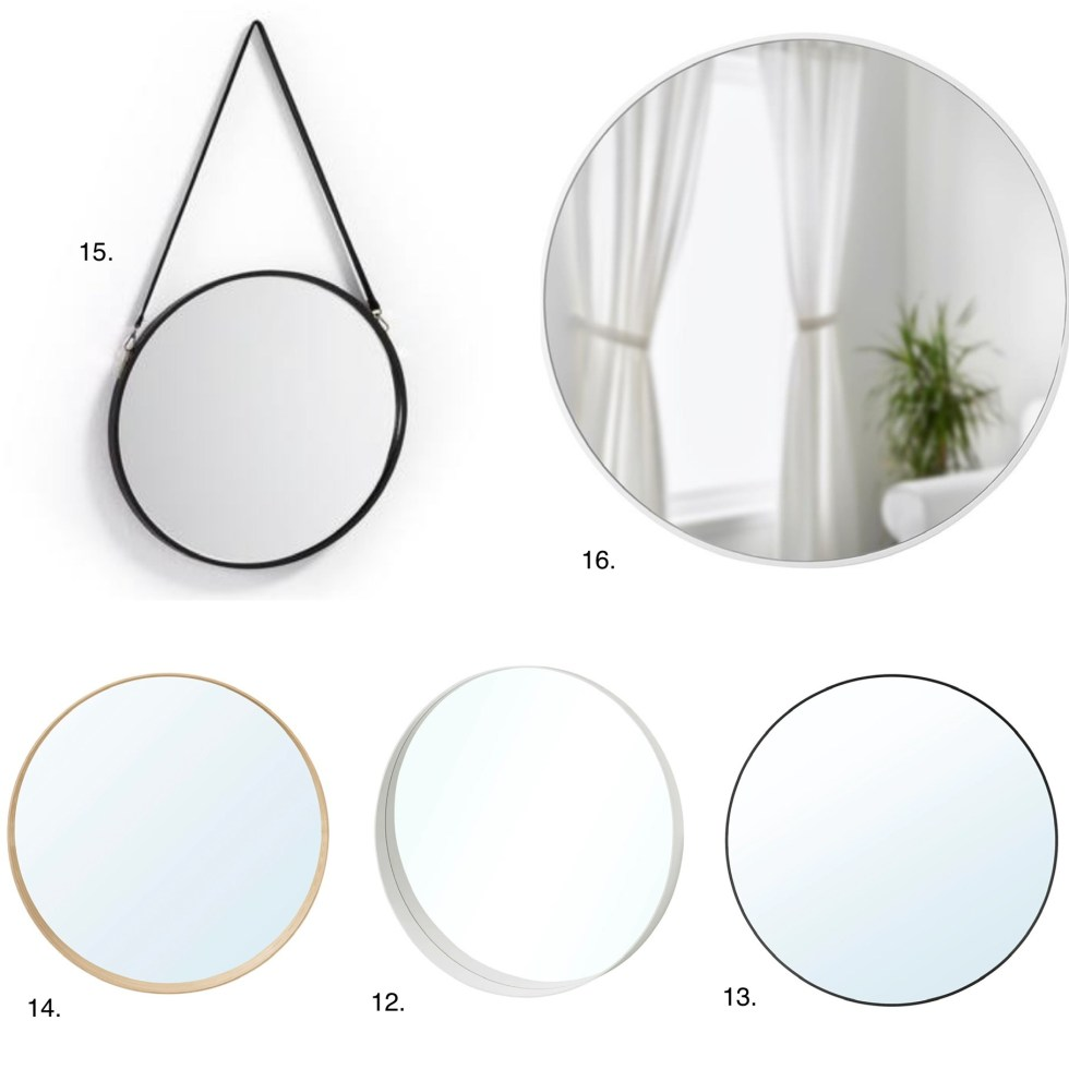 ronde spiegels, ronde spiegel, grote ronde spiegel, ronde spiegel 60 cm, spiegelinspiratie, inspiratie, interieurinspiratie, spiegel snijden, interieurblog, thathomepage, (th)athomepage, ronde spiegel