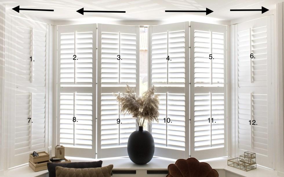 shutters, Jasno shutters, raamdecoratie, jaren 30 huis, erker, raamdecoratie erker, shutters in erker, interieurblog, interieurinspiratie, thathomepage, (th)athompeage