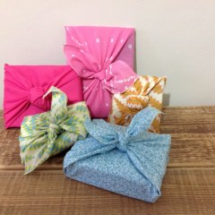 Idea #20: DIY scarf gift wrap
