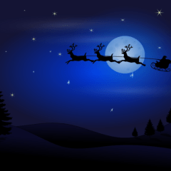 Santa is on his way…