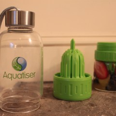 Idea #25: Fruit infused water bottle