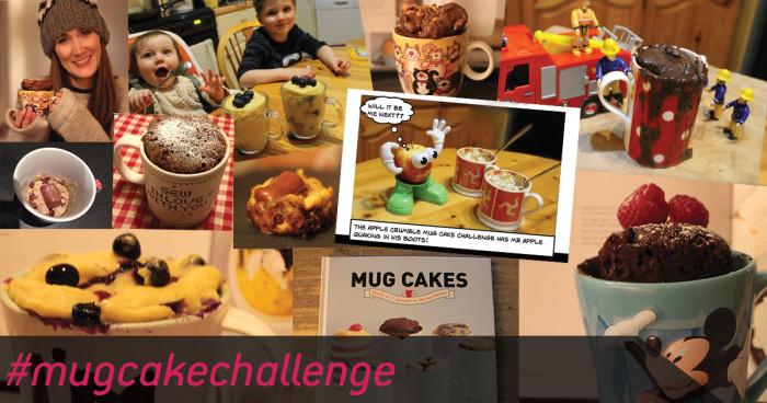 Mug cake montage