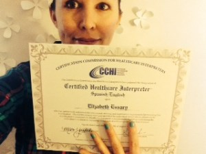 CCHI cert selfie!
