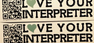 Love for ALL interpreters! How's about it, guys?