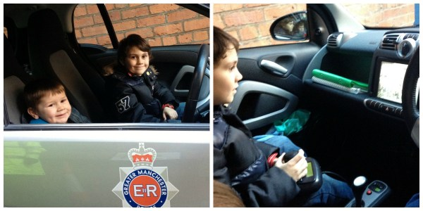 Trying out the GMP CCTV smart car