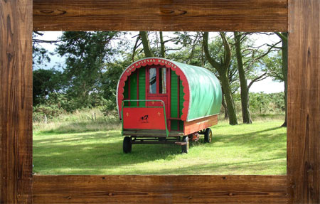 A taste of life on the road: Gypsy caravans are making a fashionable comeback