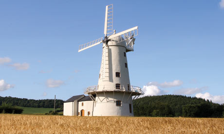 A beautiful country windmill (photo courtesy of theguardian.com)