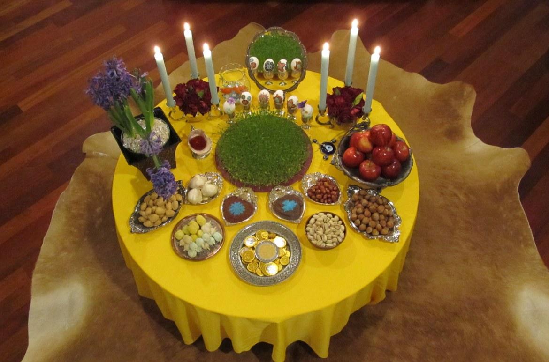 Norouz table