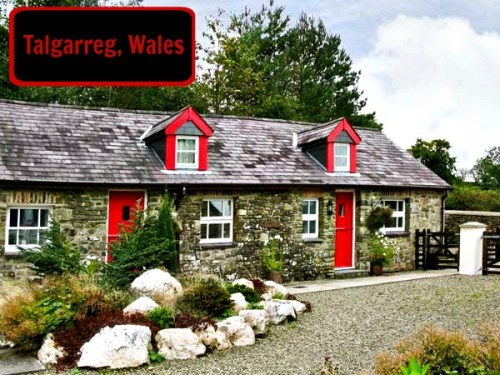 Talgarreg cottage