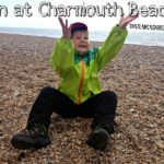 Our backpacking adventure: Charmouth Beach
