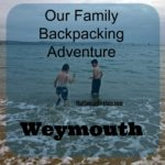 Our backpacking adventure: Weymouth