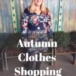 My Autumn wardrobe update