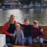 A family trip on the River Avon