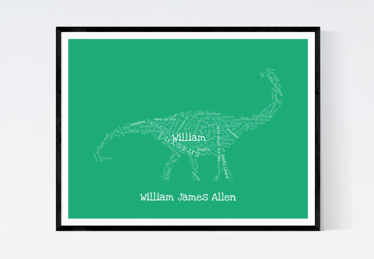 Williamdinosaurprint