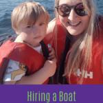 Hiring a boat on Lake Windermere