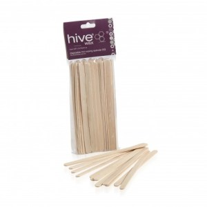 DISPOSABLE MINI WOODEN SPATULAS (50)