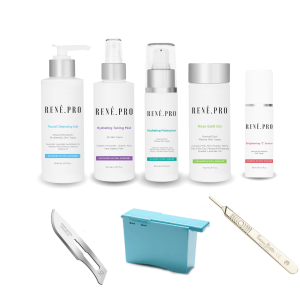 vegan dermaplaning kit