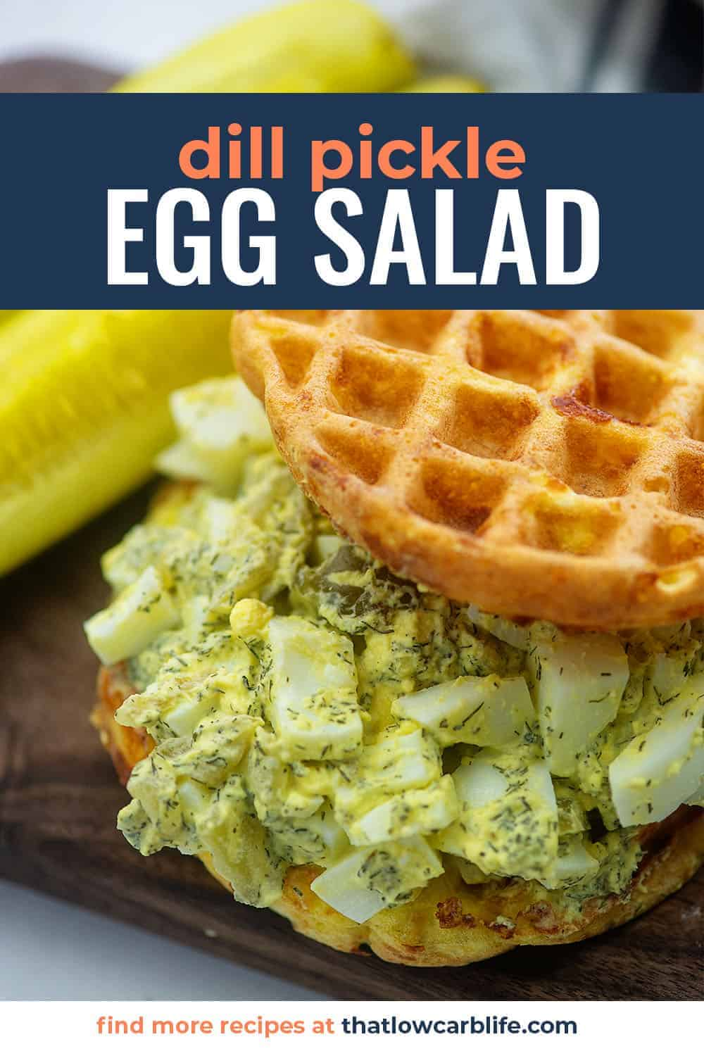 Dill Pickle Egg Salad