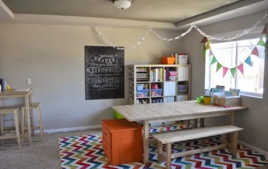 Homeschool Room Reveal A Giveaway That Mama Gretchen