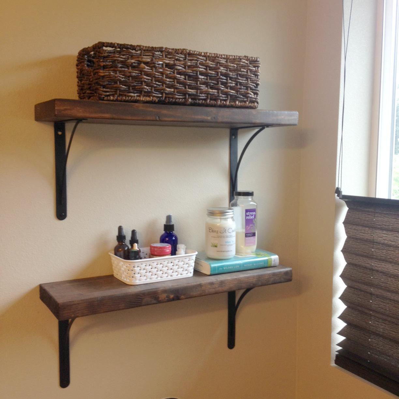 shelves diy complete