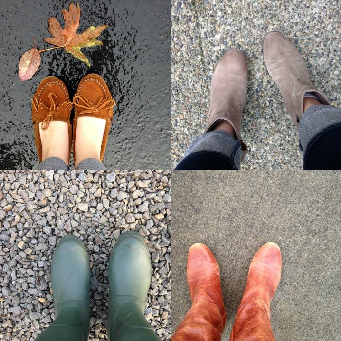 fall shoe fourfecta