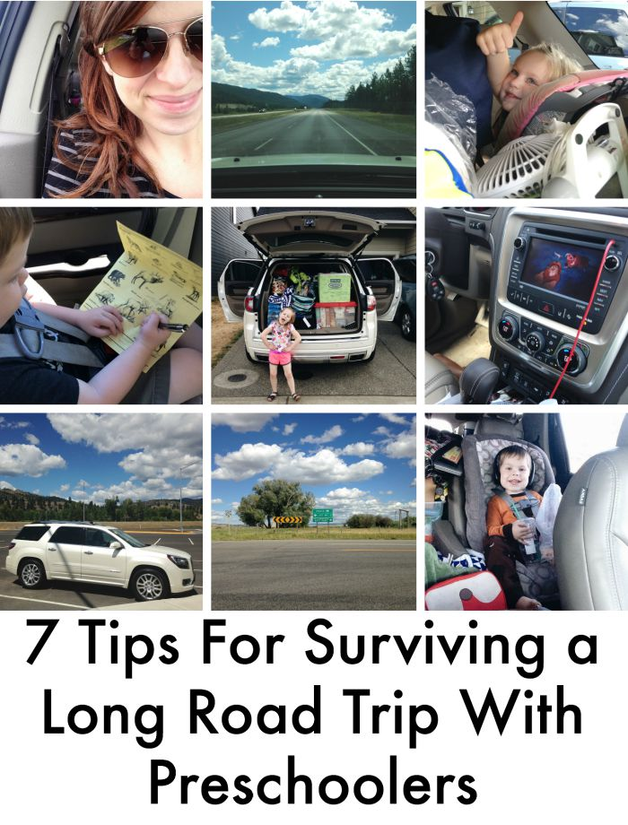 7 Tips For Surviving a Long Road Trip With Preschoolers