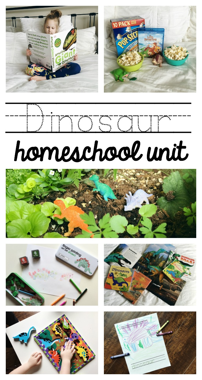 dinosaur homeschool unit