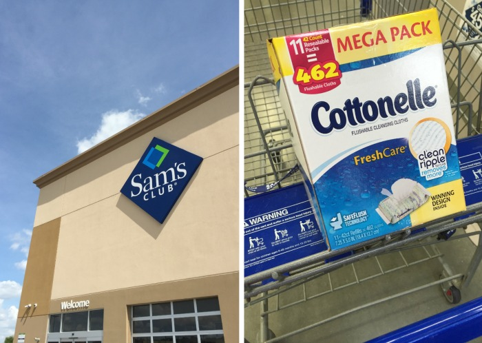 sam's club cottonelle