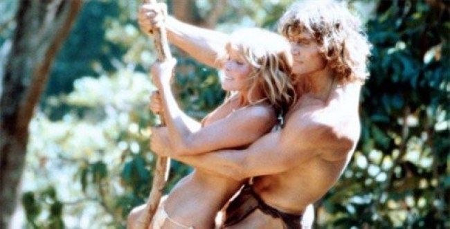 Bo Derek, Miles O'Keefe, (Tarzan The Ape man, 1981)