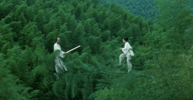 Breaking Down The Bamboo Dance In Crouching Tiger Hidden Dragon That Moment In