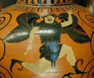 Gorgon Painter Greek pot at louvre