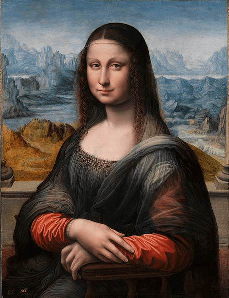 La Gioconda contemporary copy, 1503 – 1516, Museo del Prado