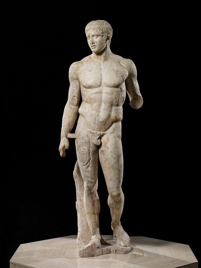 Doryphoros, Roman Copy of a Greek Original
