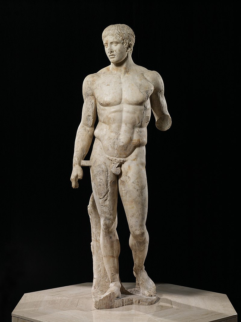 Roman Copy of a 5th century Greek statue