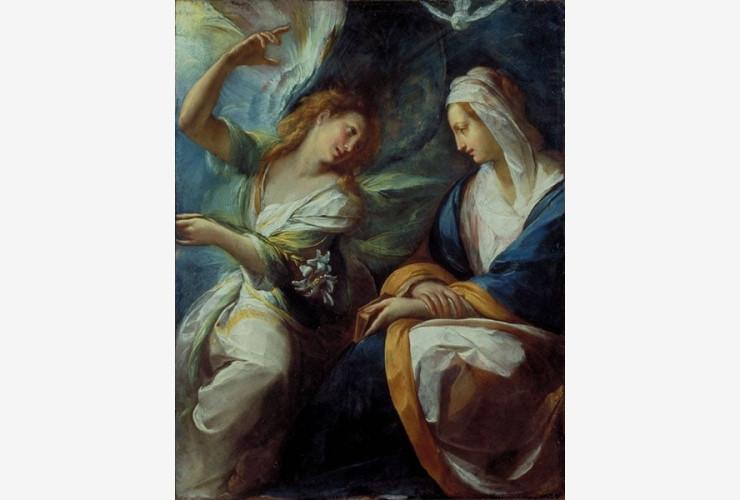 Annunciation – Giulio Cesare Procaccini, 1620, Milano