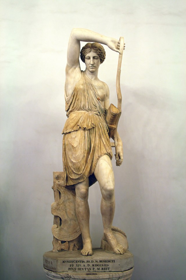 Statue of an Amazon, Capitoline Museums