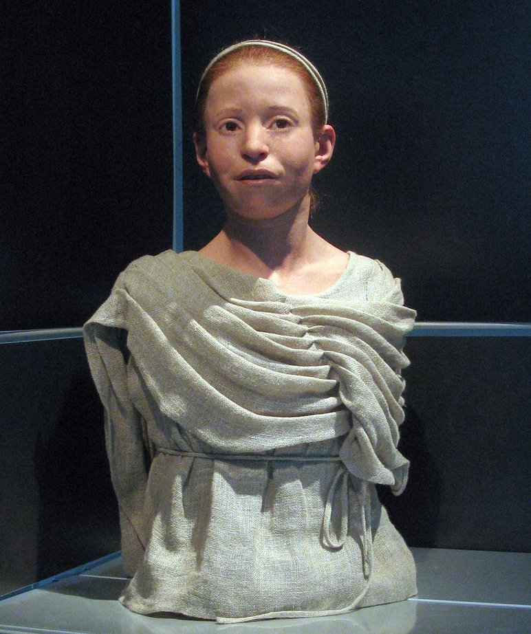 Myrtis, an 11-year-old girl who died of the Plague of Athens