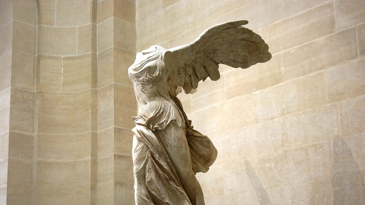 Nike of Samothrace, statue at the Louvre