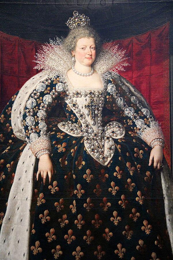 Portrait of Marie de Medici, at the Louvre